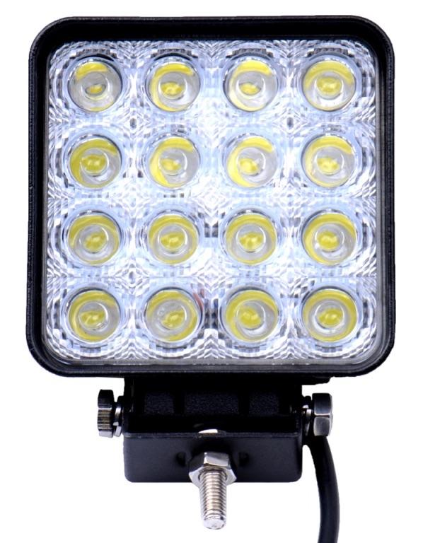 LAMPA ROBOCZA HALOGEN 16 LED 48W