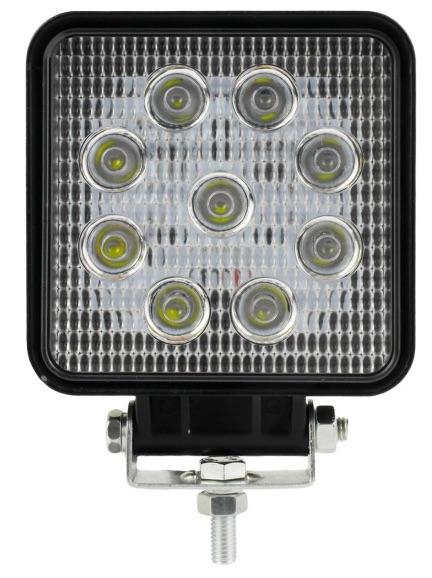 LAMPA ROBOCZA HALOGEN 9 LED 27W